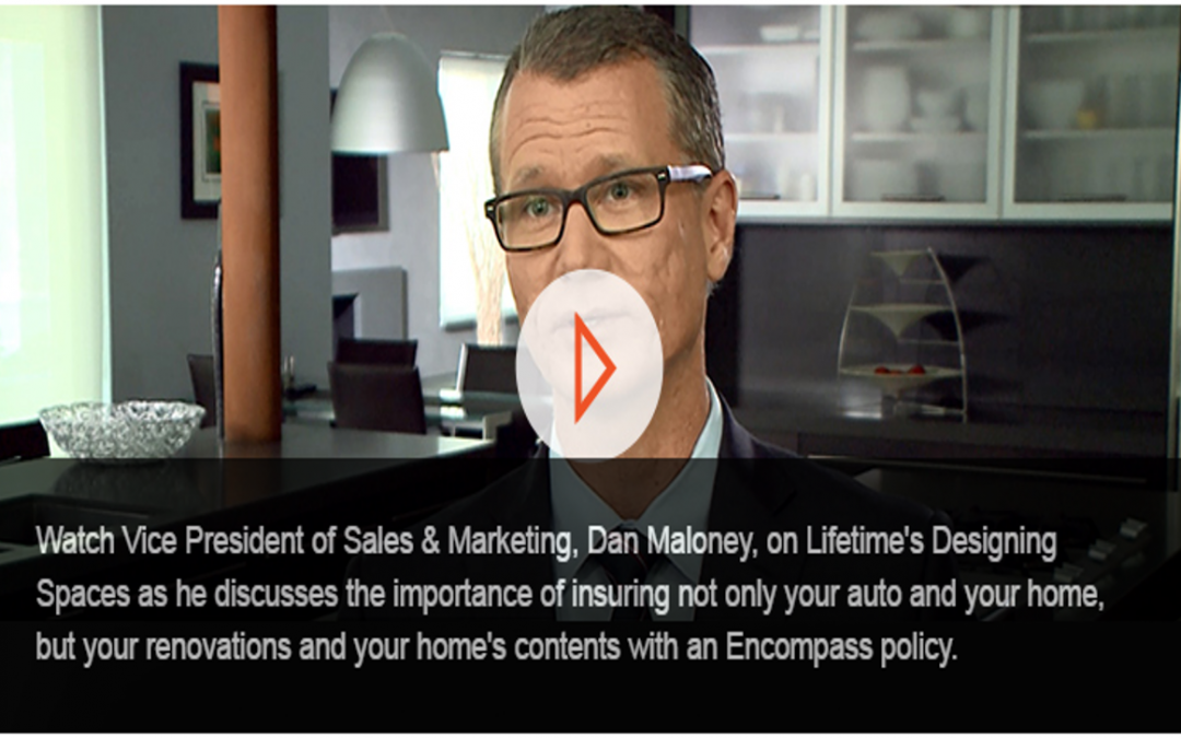 "Encompass Insurance on ""Designing Spaces"""