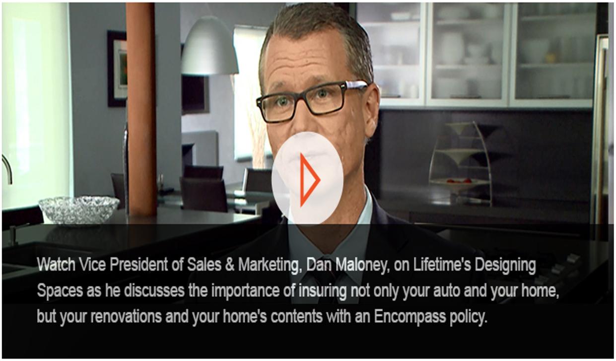 Encompass Insurance on \u0026quot;Designing Spaces\u0026quot;  David Dempsey Insurance